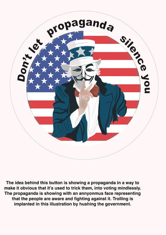 Don't let propaganda silence you.