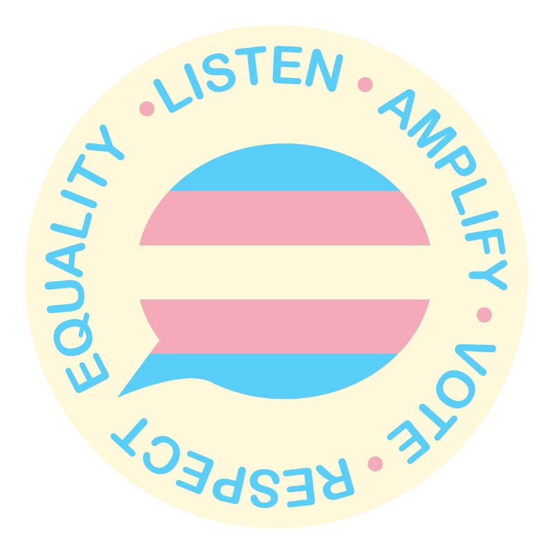 Listen, amplify, vote, respect, equality