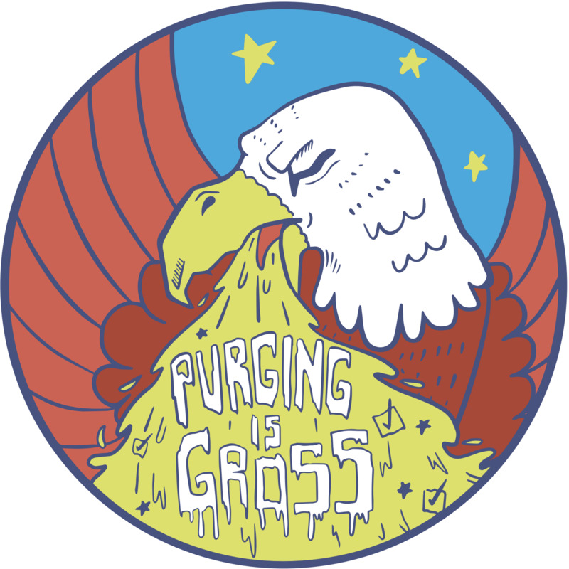 Purging is gross (eagle)
