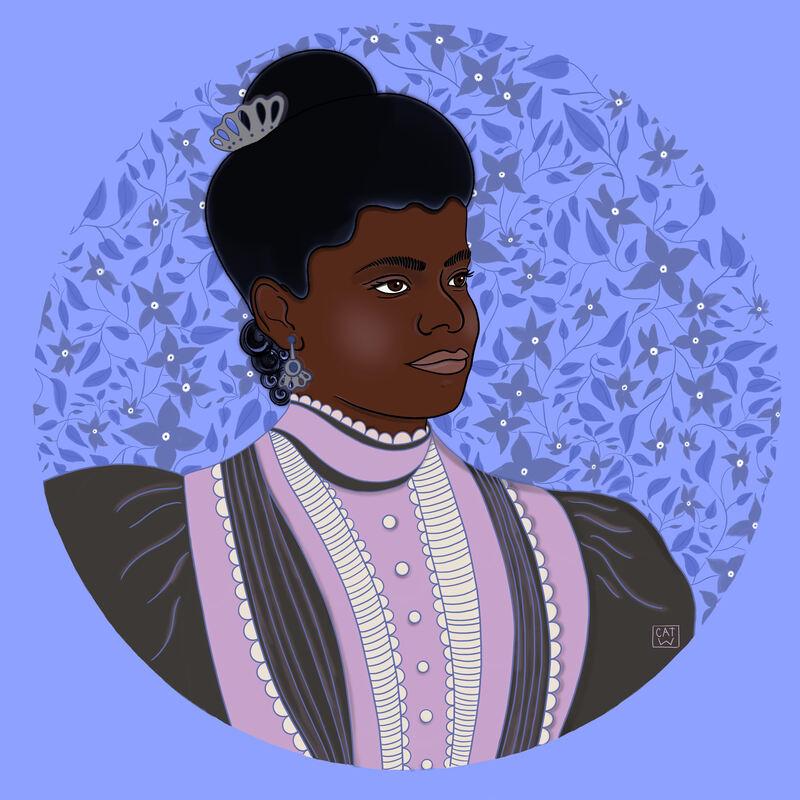 Ida B. Wells portrait